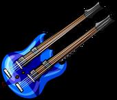 BlueDoubleNeckedGuitar