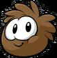 Brown puffle trsprt
