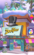 Disney Shop exterior DuckTales