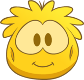 Gold Puffle Costume icon