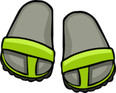 Lime Green Sandals icon