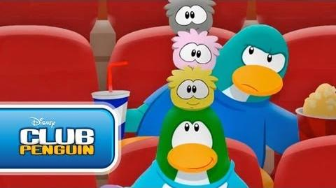 Best Seat in the House Official Club Penguin
