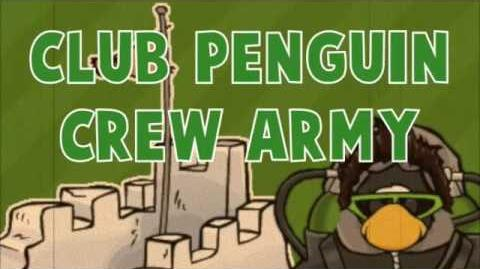 Club Penguin Crew Army