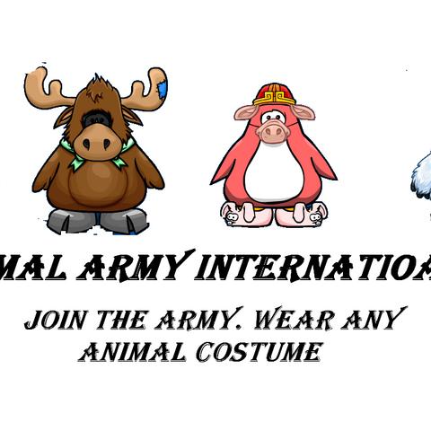 Animal Army Internatioan Poster