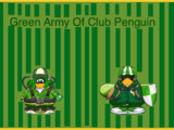Green Army Of Club Penguin