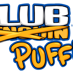 The logo during the <b>2012 Puffle Party</b>.