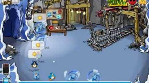 Club Penguin Water Ninjas training session 8 13 2013