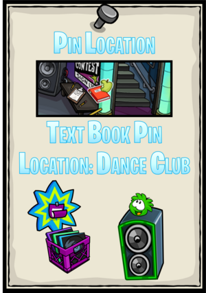 TextBookPin DanceClub