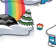 Rainbow-puffle