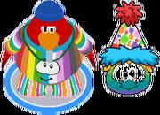 Rainbow Puffle Walking In Game