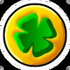 Lucky Coin Pin Icon