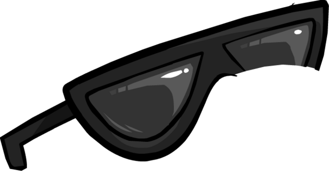 File:Black Sunglasses3.png