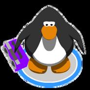 Purple Boom Box In Game