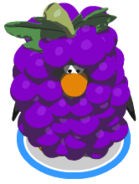 Grape Bunch Costume In Game