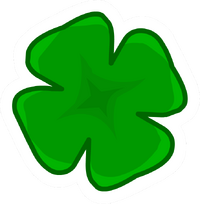 Shamrock Pin Icon
