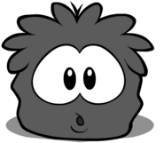 Black Puffle Starving