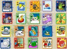 rare club penguin card jitsu cards