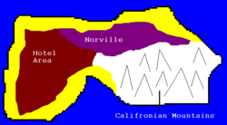 Penguiki Island map