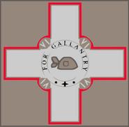 For Gallantry Cross