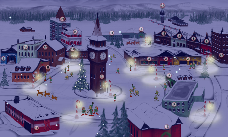 north pole imagepng - Santa And The North Pole