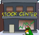 Club Penguin Stock Trade Building