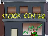 Club Penguin Stock Trade Building