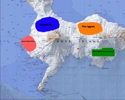 Ross Island Locations