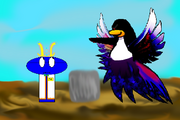 Darktan Confronting Shroomsky