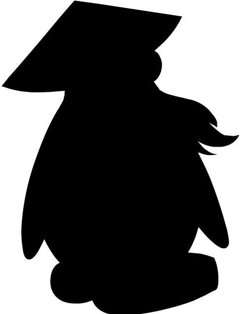 Image result for club penguin shadow