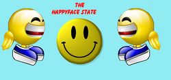 The Happyface State Flag