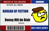 Director Benny's ID