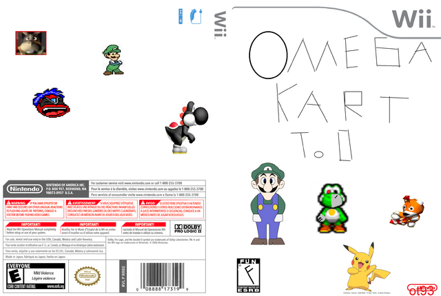 image wii cover template my version png club penguin fan