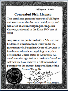 Pengolian Fish License