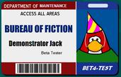 Demonstrator Jack BoF Card