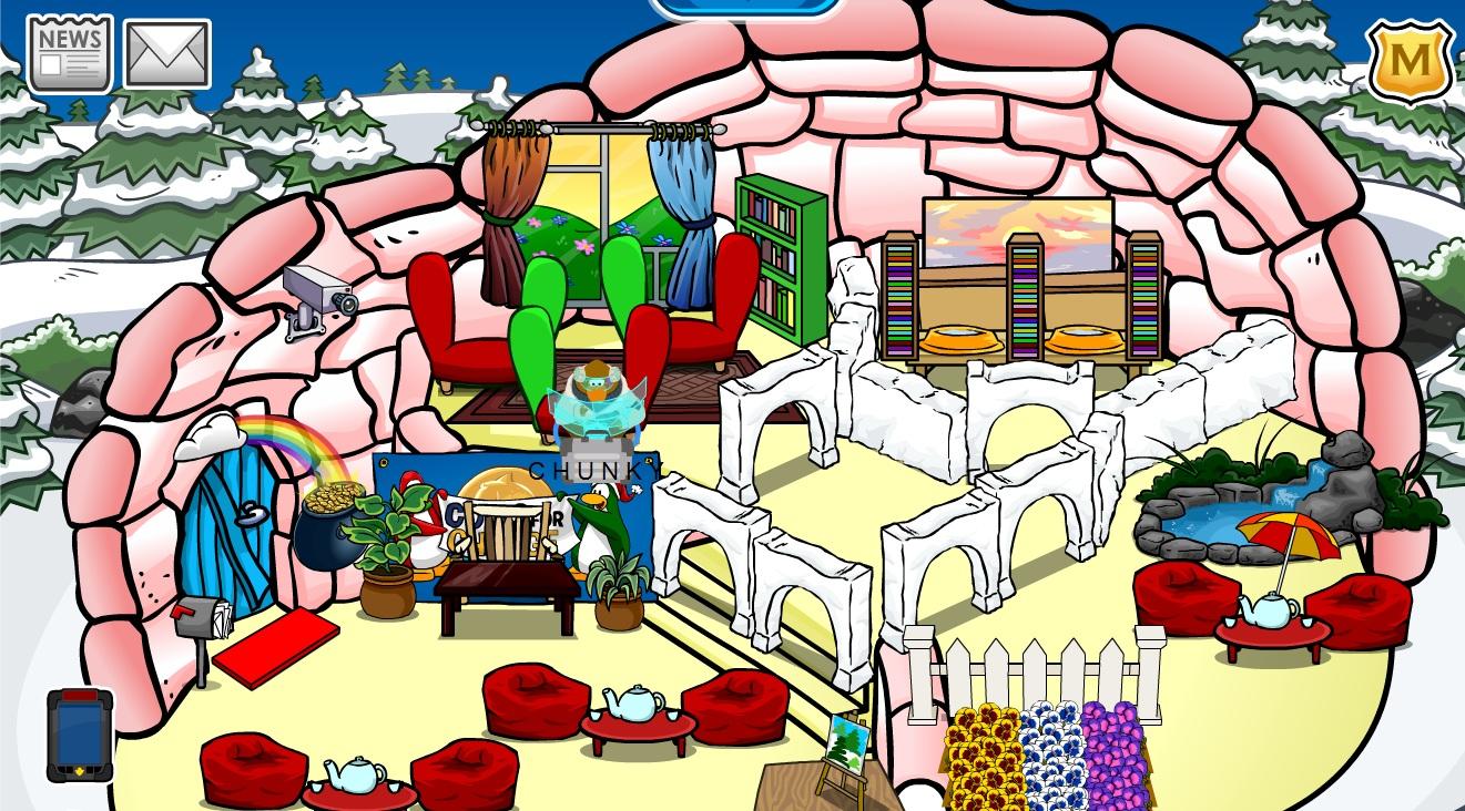 Pookie Day Care Igloos Club Penguin Pookie Wiki Fandom