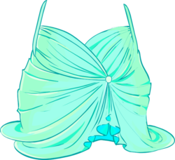 Among the Stars Mint Dress icon