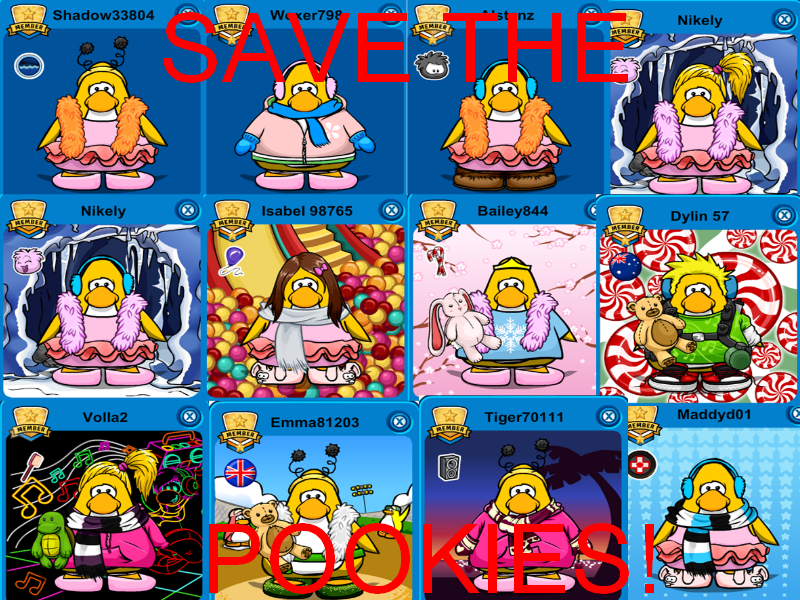 user blogpoisoon140pookie army club penguin pookie