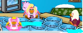Pookie Taking A bath