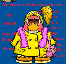 The meanest mum (in cpps) of the world, Bhipster.