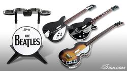 The Beatles- Rock Band Instruments