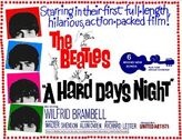 A Hard Days night movieposter