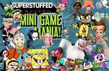 Cartoons Superstuffed- Mini Game Mania 2 title screen