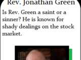 Rev. Jonathan Green