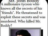Mr. John Boddy