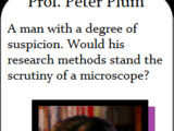 Prof. Peter Plum