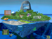 Living island map