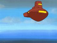 Living island spaceship