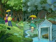 Rainy area