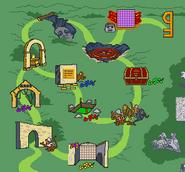 Monkey kingdom map