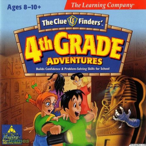 The ClueFinders 3rd Grade Adventures Mystery of Mathra